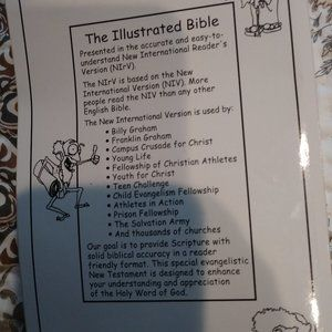 Other - 📚$7 The Illustrated Bible New Testament